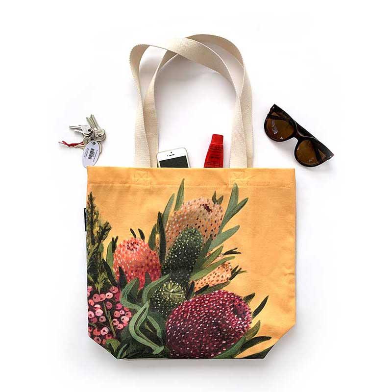 banksia canvas tote bag