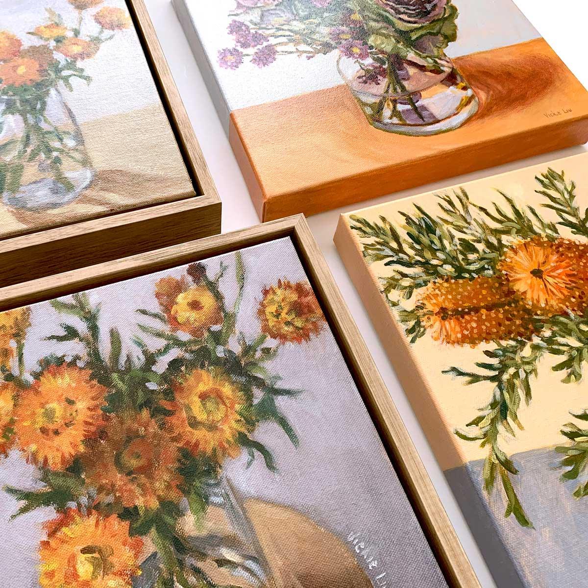 Mini Florals Collection Closeup