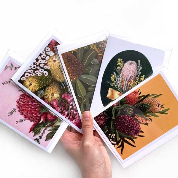 Australian Native Greeting Card Pack