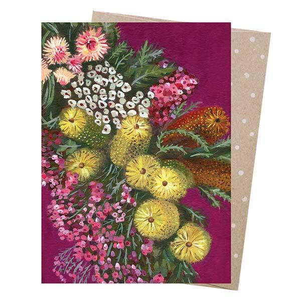 Flower Chain Greeting Card