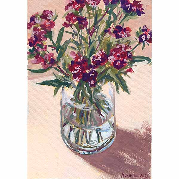 Sweet William Flower Still LIfe