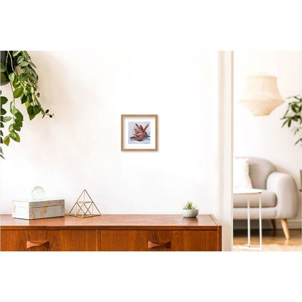 Mini Protea on Blue Study Painting insitu